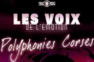 Concert polyphonique Corse à Cargese