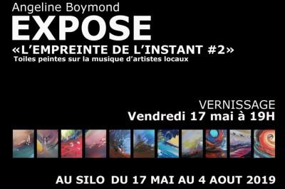 Exposition L'empreinte de l'instant #2 - Peinture d'Angeline Boymond à Le Mans