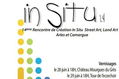In Situ 1.4: 14ème Rencontre De Création In Situ, Street Art , Land Art,  à Beaucaire