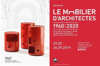 Le mobilier d'architectes, 1960-2020 à Paris 16ème