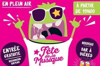 Fête de la musique à Saint Andre Goule d'Oie