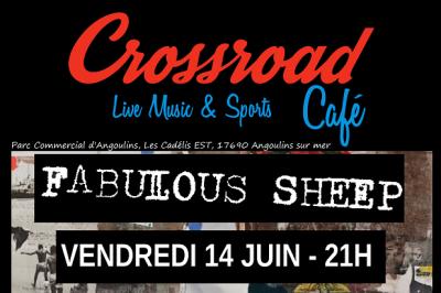 Fabulous Sheep au Crossroad Café ! à Angoulins