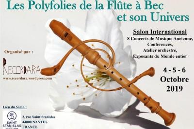 Les Polyfolies De La Flûte À Bec Et Son Univers 2019