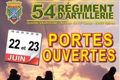 Journée portes ouvertes du 54e régiment d'artillerie 2019