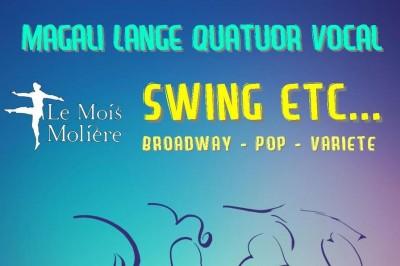 Swing etc... - Quatuor Vocal et Piano à Versailles