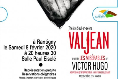 Christophe Delessart : Valjean à Rantigny
