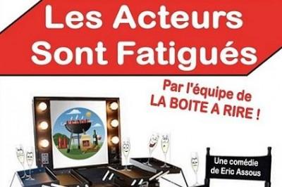 Les Acteurs Sont Fatigués à Perpignan