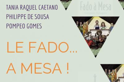Le Fado... à Mesa! Dîner-concert #1 Saison 2019/2020 à Dijon