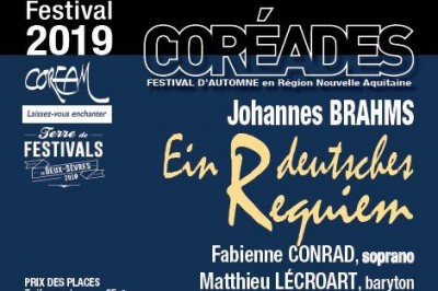 Coréades: Brahms :  Ein Deutsches Requiem à Niort