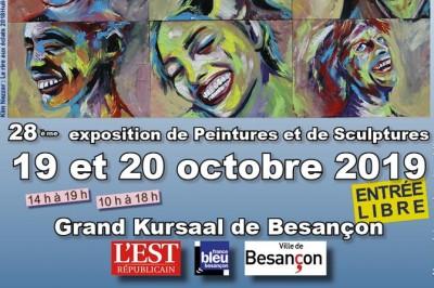 28 Ème Exposition De Peintures Et Sculptures à Besancon
