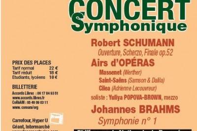 Coréades: Concert Symphonique et airs d'opéra à Merignac
