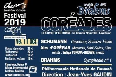 Coréades/ Concert Symphonique  et airs d'opéra à La Rochelle