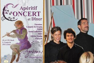 Apéritif-Concert Agrémens 2019 à Thoiry