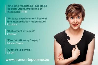 Manon Lepomme Non, Je N'irai Pas Chez Le Psy à Saint Mathurin