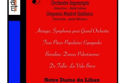 Concert symphonique Franco-Espagnol à Paris 5ème