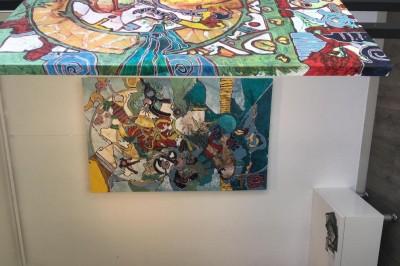Exposition Franck CAVADORE, peintures à Bayonne