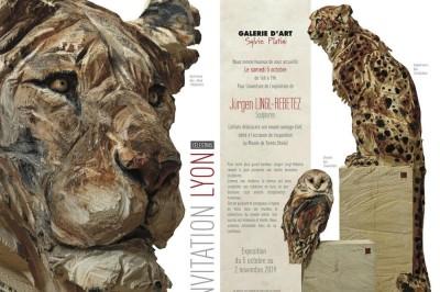 Exposition Jürgen LINGL-REBETEZ | sculptures à Lyon