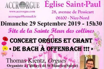 Concert d'orgue à Nice