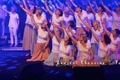 Concert Only Gospel Singers et Couleur Turquoise à Drumettaz Clarafond