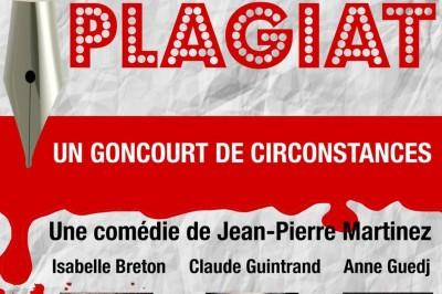 Plagiat, une comédie de Jean-Pierre Martinez à Avignon