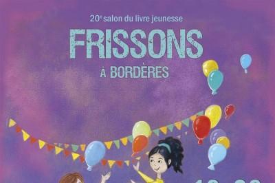 Salon du livre jeunesse Frissons à Bordères à Borderes