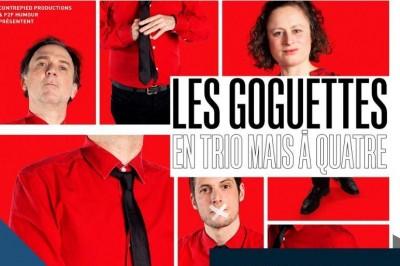 Les Goguettes (en trio mais à 4)