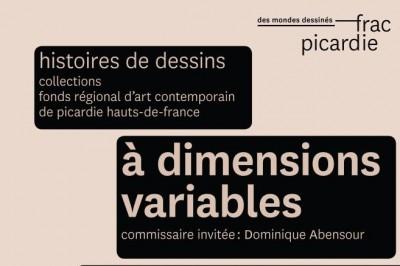 À dimensions variables - visite dessinée en famille à Amiens
