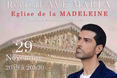 Recital Ave Maria à Paris 8ème