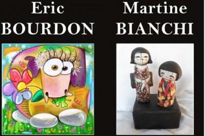Exposition Eric Bourdon & Martine Bianchi à Toulon