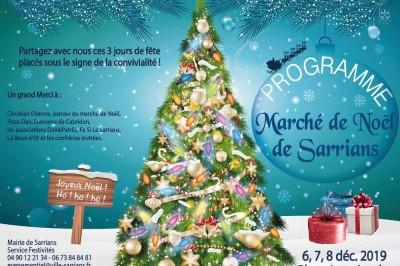 Marché de Noël à Sarrians 2019