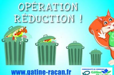Opération Réduction à Rouziers de Touraine