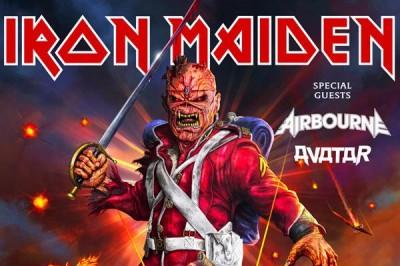 Iron Maiden à Nanterre