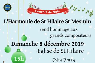 Concert de Noël à Saint Hilaire saint Mesmin