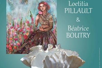 Exposition de Loetitia Pillault et de Béatrice Boutry à Ballan Mire
