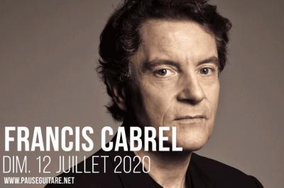 Pause Guitare 2020 Francis Cabrel et Supertramp's Roger Hodgson à Albi