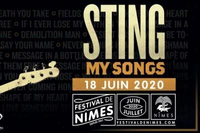 Sting à Nimes