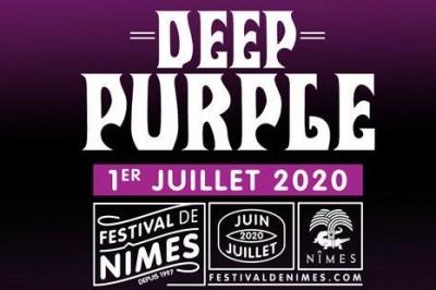 Deep Purple au Festival de Nîmes 2020 à Nimes