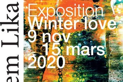 Exposition Winter Love : peintures & photographies à Sainte Vertu