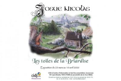 Les toiles de la briardise à Paris 15ème