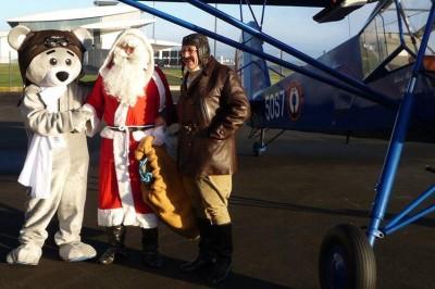 Père Noël des aviateurs à Marce