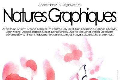 Vernissage Natures Graphiques en présence de nombreux artistes à Angers