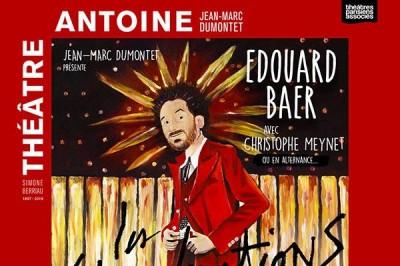 Edouard Baer à Paris 10ème