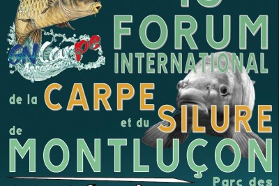 16e Forum International de la Carpe et du Silure à Montlucon