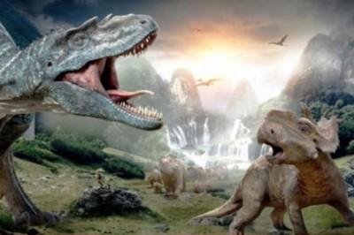 Exposition Dinosaures Landes à Montlucon