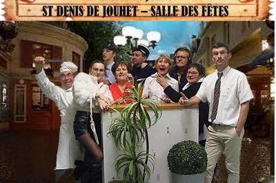 Repas spectacle Drôles de Jouhet à Saint Denis de Jouhet