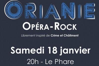 Orianie, opéra rock librement inspiré de Crime et Chatiment à Saint Coulomb