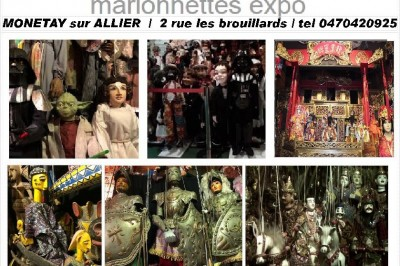 Marionnettes du Monde à Monetay sur Allier