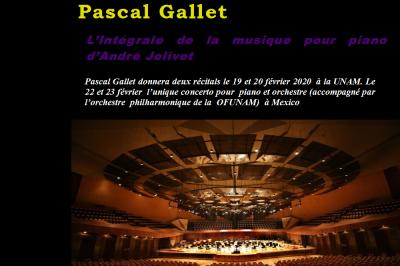 Intégrale piano d'André Jolivet à Paris 16ème