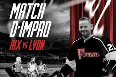 Match d'impro Aix contre Lyon à Aix en Provence