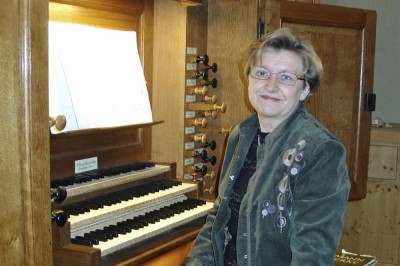 Récital d'orgue de Betty Maisonnat à Montelimar
